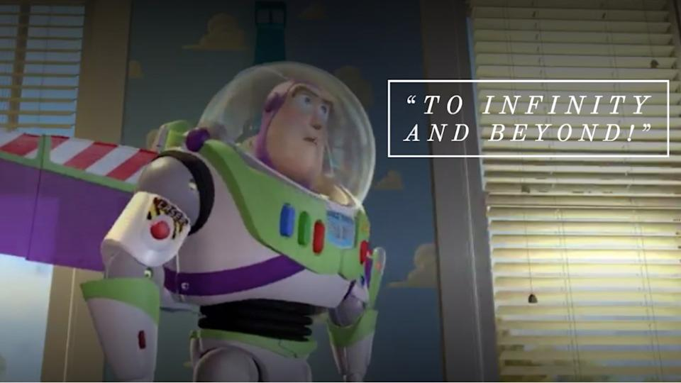 Toy Story movie quote