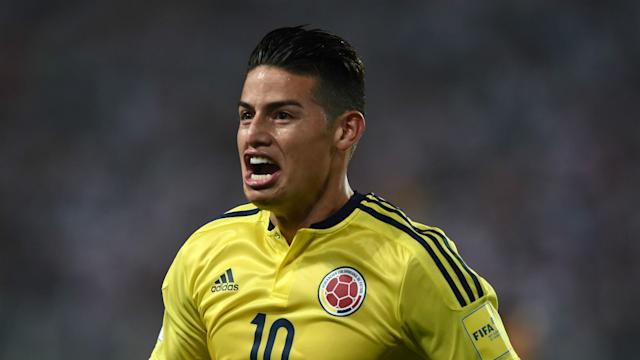 The Colombia international has earned high praise from an iconic countryman, with the talented playmaker expected to lead a World Cup charge in Russia