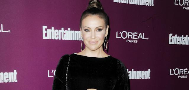 Alyssa Milano's clothing line has sold NASCAR-licensed apparel since 2013.