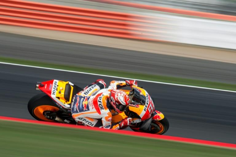 Spanish rider Marc Marquez is leading the MotoGP world championship