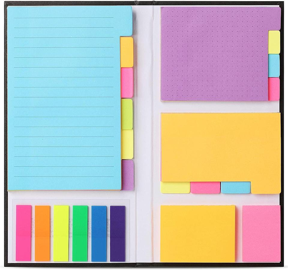 <p>Whether it's bookmarking, a helpful reminder, or active note-taking, a set of these <span>Mr. Pen- Sticky Notes Set</span> ($8) will come in handy. In fact, the whole family will be able use these handy sticky notes. </p>
