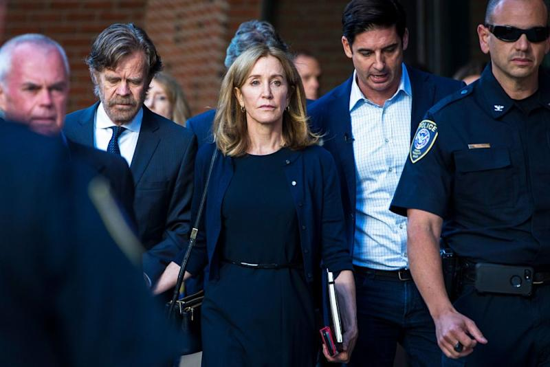 Felicity Huffman | Nic Antaya for The Boston Globe via Getty