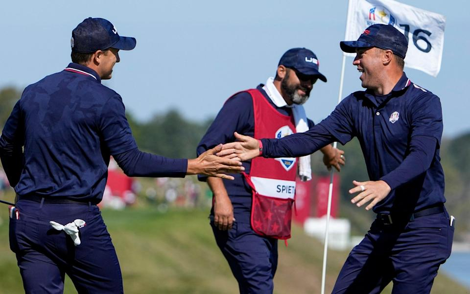 ryder cup 2021 live scores latest updates day two - AP