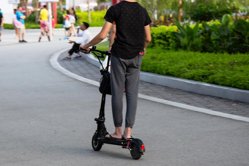 Teen e-scooter rider who injured 56-year-old woman fined $2,200