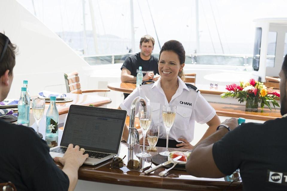 "<p>Other reality shows can extend their filming schedule to capture extra footage, but <em>Below Deck</em> <a href=""https://www.nytimes.com/2020/06/29/style/below-deck-bravo.html"" rel=""nofollow noopener"" target=""_blank"" data-ylk=""slk:can't extend beyond their six week"" class=""link rapid-noclick-resp"">can't extend beyond their six week</a> schedule due to the extra expense of chartering the yacht. It's up to cast members to bring the drama in the allotted time. </p>"