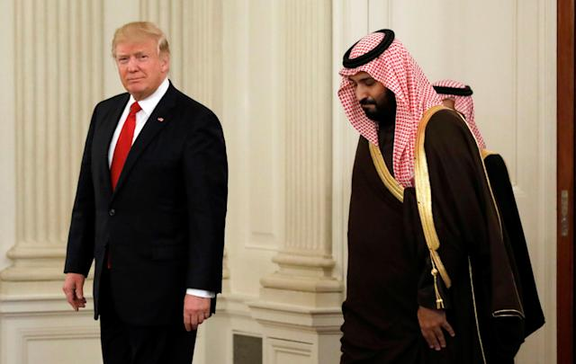 WASHINGTON ― A $110 billion arms deal with Saudi Arabia that President Donald Trump announced Saturday would be illegal because of the Saudis' role in the ongoing conflict in Yemen, according to a legal analysis the Senate received Friday.