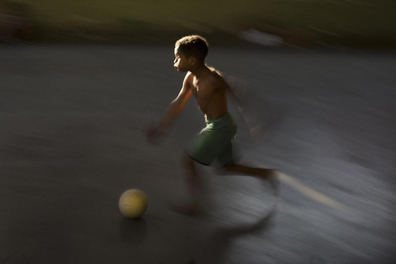 AP PHOTOS: World Cup kicks off this week in Brazil