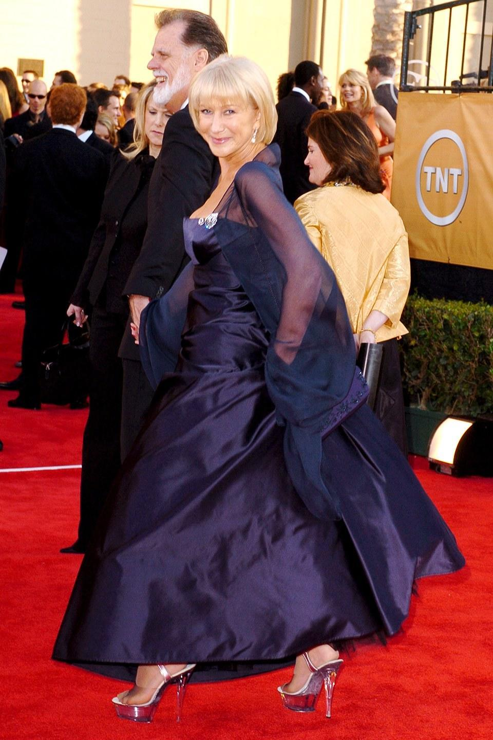 <p>At the 11th annual Screen Actors Guild Awards.</p>