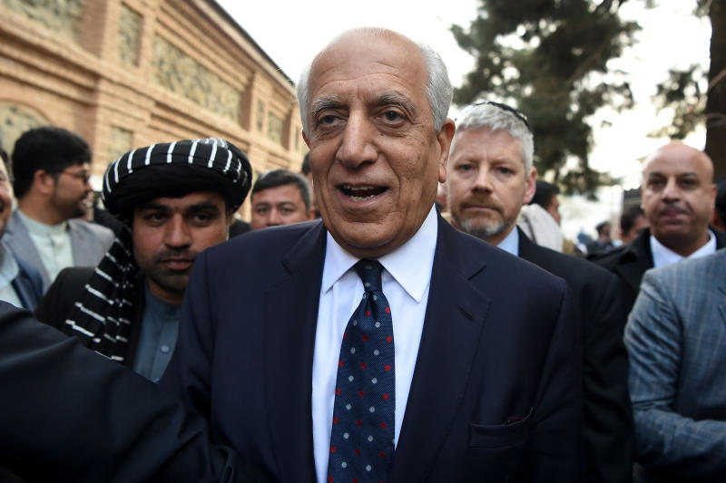 Image: U.S. envoy for peace in Afghanistan Zalmay Khalilzad (Wakil Kohsar / AFP - Getty Images file)