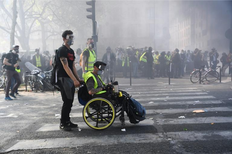 "This is the 23rd week of ""yellow vest"" street protests"