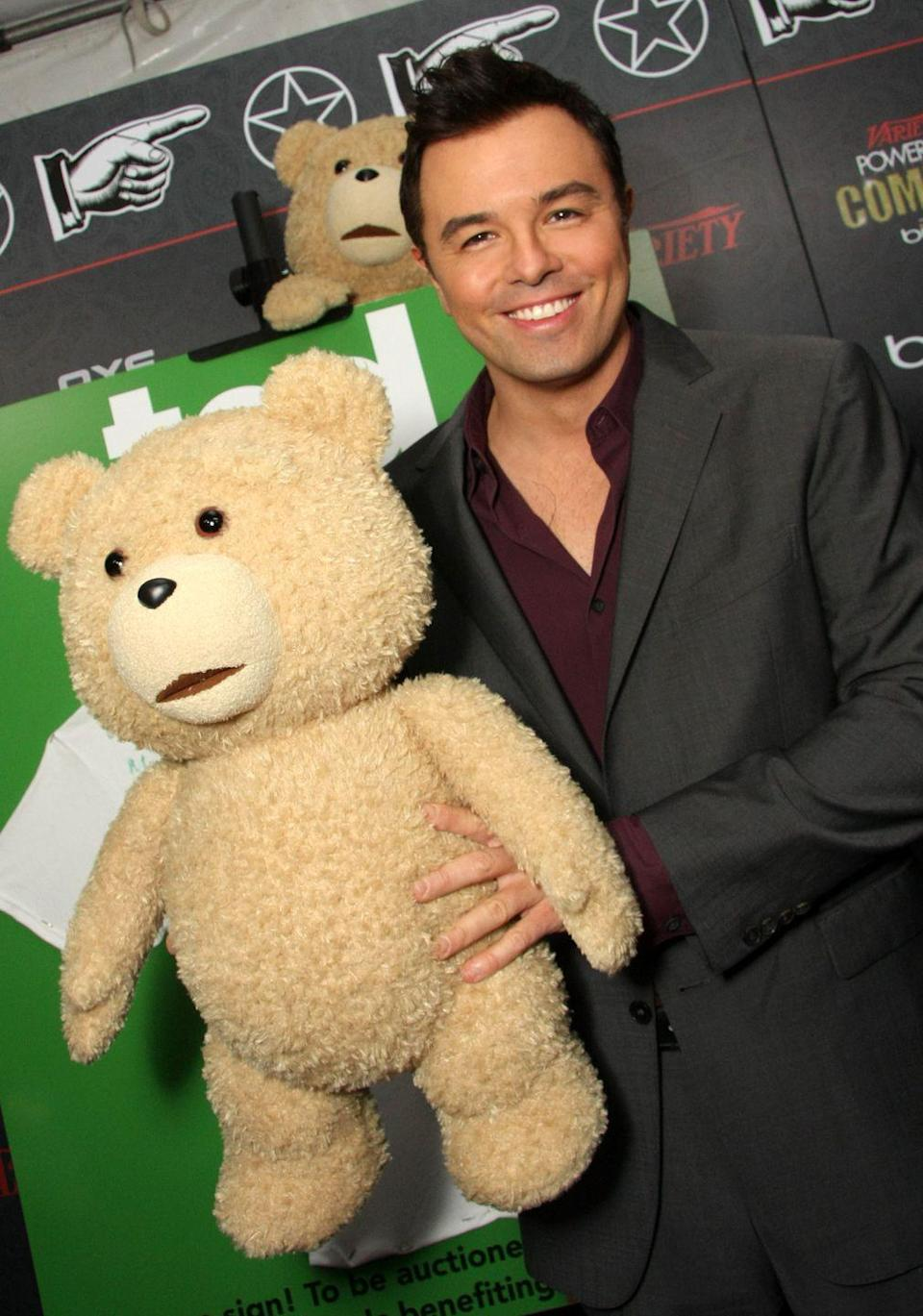 <p>After writing, animating, producing, and voicing the characters on <em>Family Guy</em>, Seth MacFarlane transitioned to film. He made his directorial debut with <em>Ted</em> in 2016, in which he also voiced the main character.</p>