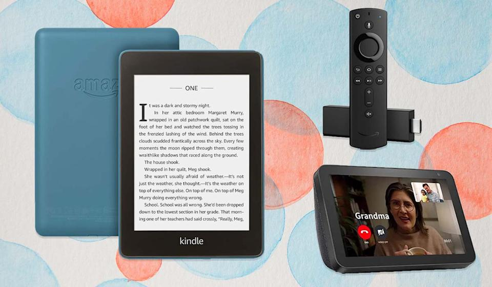 This secret sale section is poppin' with deals on Echo Shows, Kindle tablets and more! (Photo: Amazon)