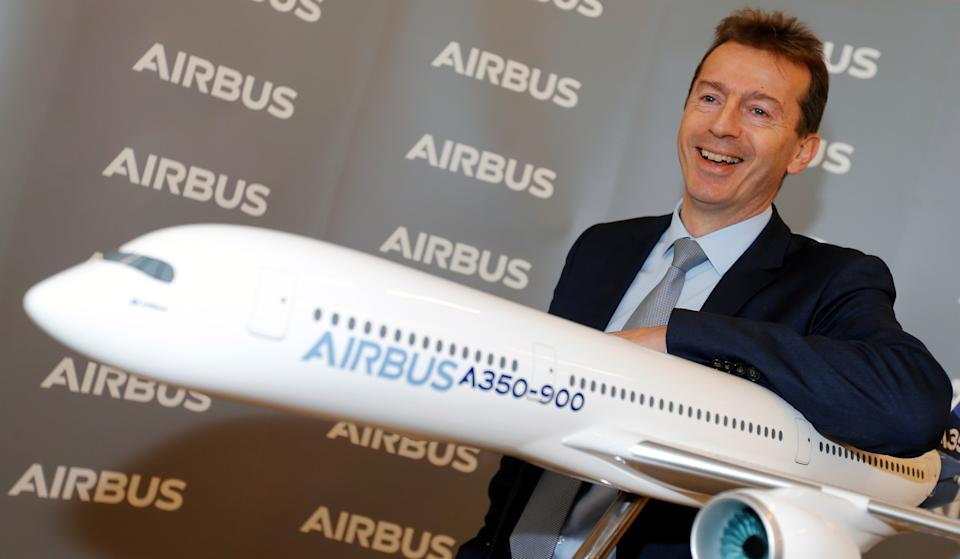 Airbus CEO Guillaume Faury. Photo: Regis Duvignau/Reuters