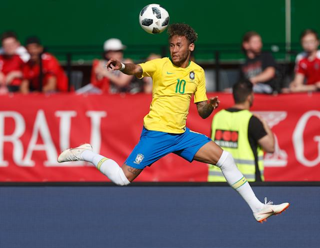 <p>Neymar is part of the Brazil squad valued at €1.27bn. </p>