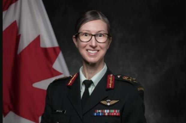 Brig.-Gen. Krista Brodie is the new chief of Canada's vaccine rollout effort. (CAF - image credit)