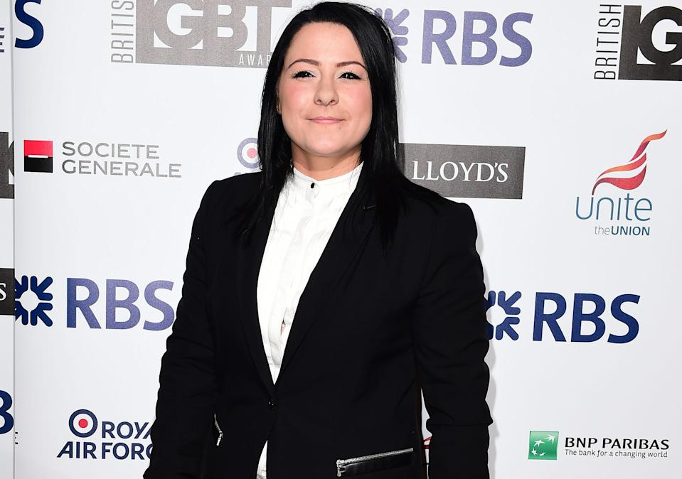 Lucy Spraggan pictured in 2015 before she gave up drinking and took up running. (PA)