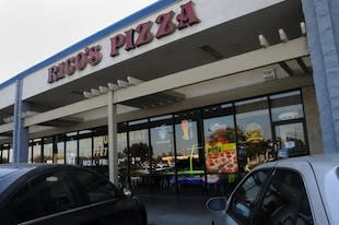 Rico's Pizza, where a disturbing robbery took place during a youth football banquet — Modesto Bee