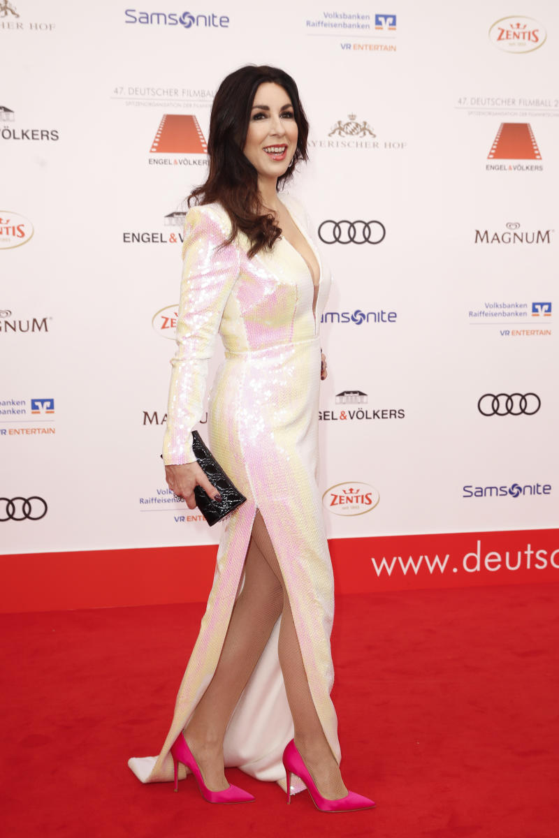MUNICH, GERMANY - JANUARY 18: Judith Williams during the 47th German Film Ball at Hotel Bayerischer Hof on January 18, 2020 in Munich, Germany. (Photo by Franziska Krug/WireImage)