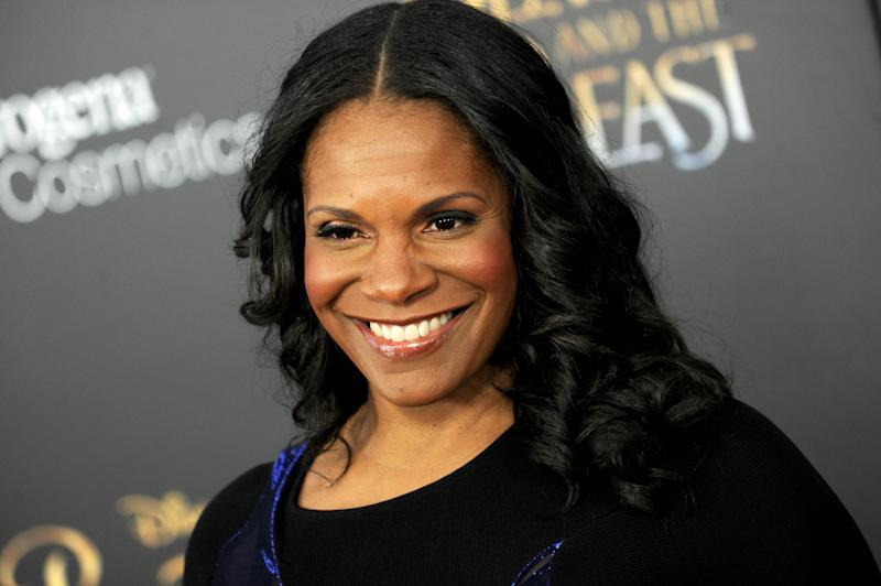 "Photo by: Dennis Van Tine/STAR MAX/IPx 3/13/17 Audra McDonald at the premiere of ""Beauty And The Beast"" in New York City."