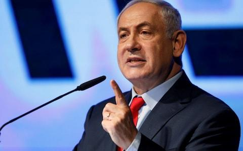 Benjamin Netanyahu says he supports a Kurdish state - Credit: Reuters