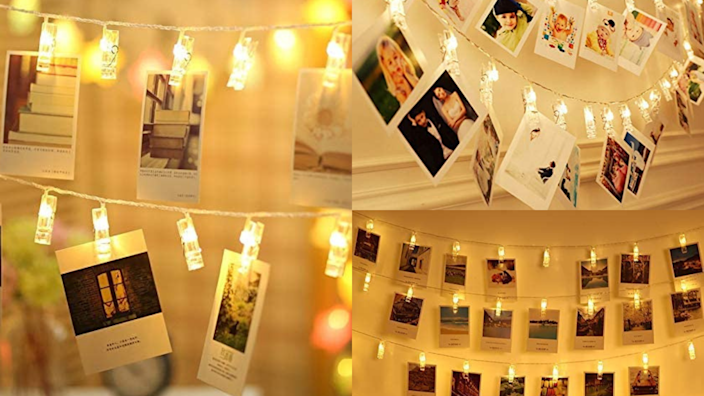 Best photo gifts of 2020: LED Photo String Lights
