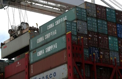 Goods from China are offloaded June 20 at a California port. Trump is due to announce new investment and export restrictions this week