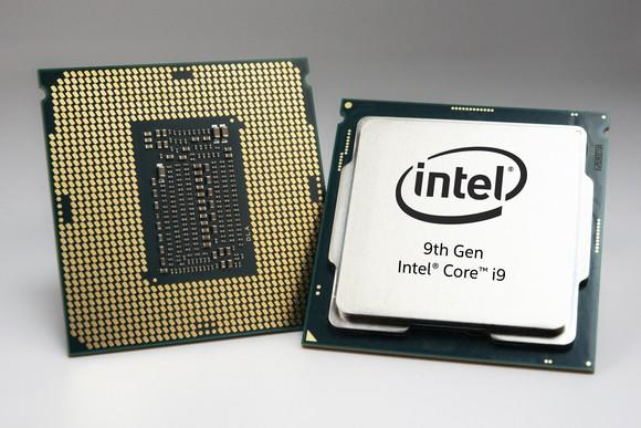 Intel 9th Gen Core desktop processors.