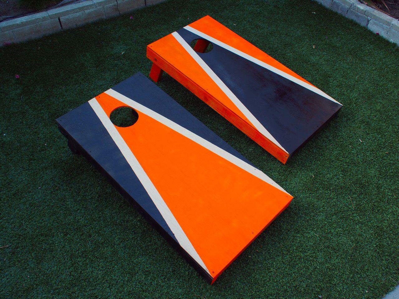 "<p>Nothing livens up a summer BBQ more than a little competition. A bean bag toss game–known as cornhole in some parts-welcomes players of all ages and abilities, who can compete on a level playing field. You can enjoy a couple of round without breaking a sweat, or even putting your drink down. </p><p>To play, you simply need a set of eight corn filled <a href=""http://www.amazon.com/Tailgate360-Corn-Hole-Bean-Toss/dp/B00AK6QTRM/ref=sr_1_6?ie=UTF8&qid=1463969600&sr=8-6&keywords=bean+bags"">bean bags</a> and two boards. The boards can be built in an afternoon, and can be decorated with the colors of your favorite sports team or a design of your own choosing. Here's how.</p>"