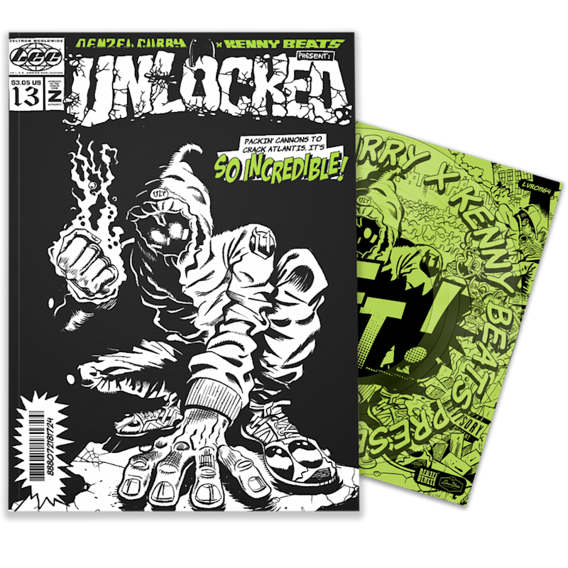 unnamed 7 Denzel Curry and Kenny Beats Turn UNLOCKED Into Comic Book and Instrumental Album
