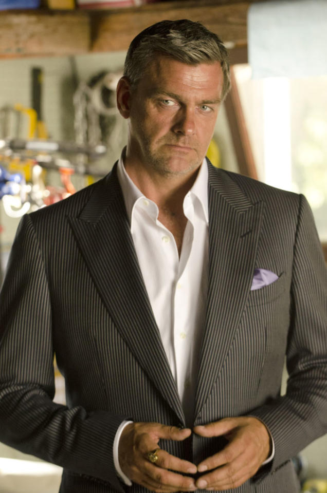 "Ray Stevenson as Isaac in the ""Dexter"" episode, ""Sunshine and Frosty Swirl."""