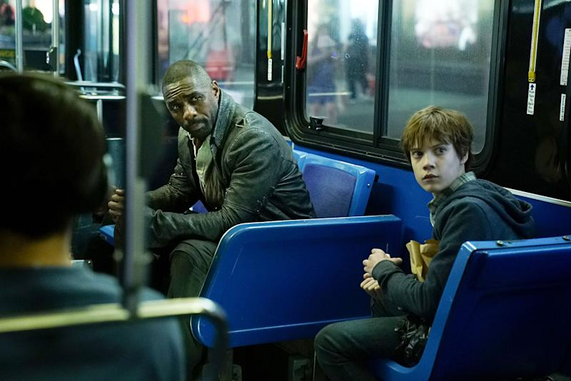 Idris Elba as Roland and Tom Taylor as Jake in<em> The Dark Tower.</em>