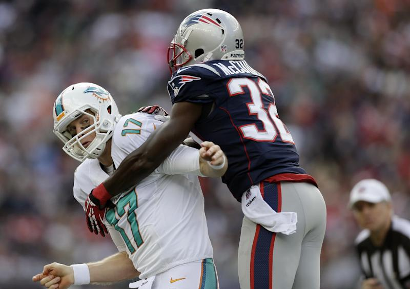 Patriots DB McCourty making most of the season
