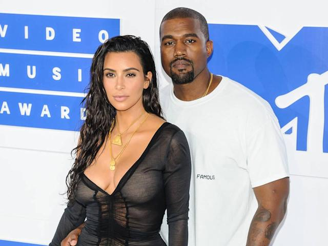 Kim and Kanye have been together since 2012. Copyright: [Rex]