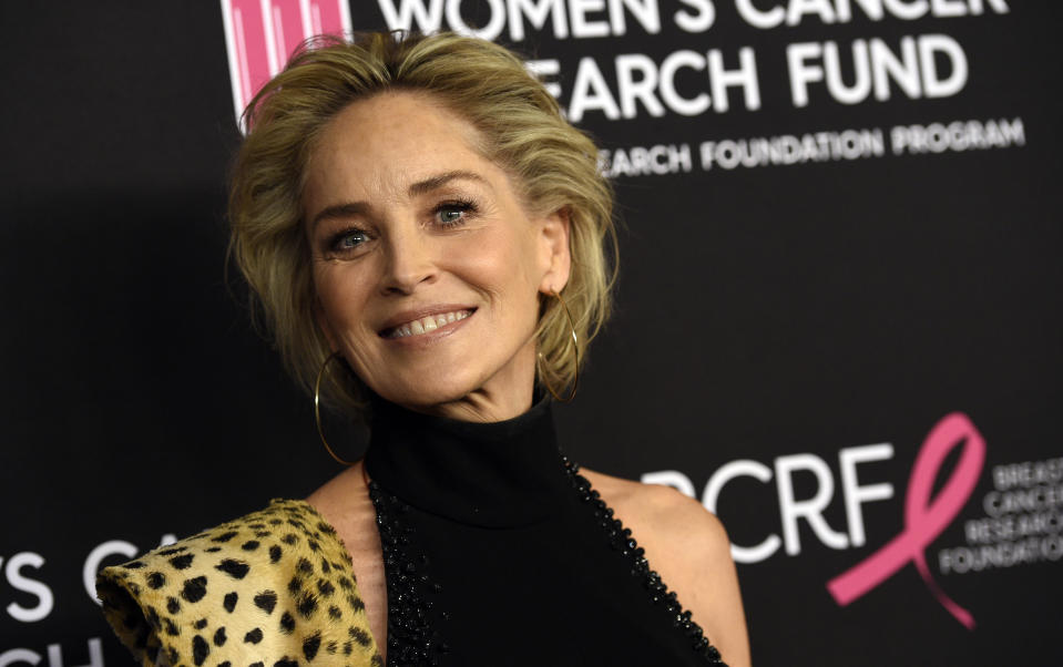 A atriz Sharon Stone. Foto: Chris Pizzello/Invision/AP
