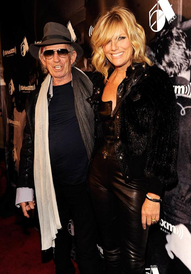 The original Studio 54 has a special place in the heart of rocker Keith Richards -- he met his model wife Patti Hansen there! The couple will have been married 28 years in December. (October 18, 2011)