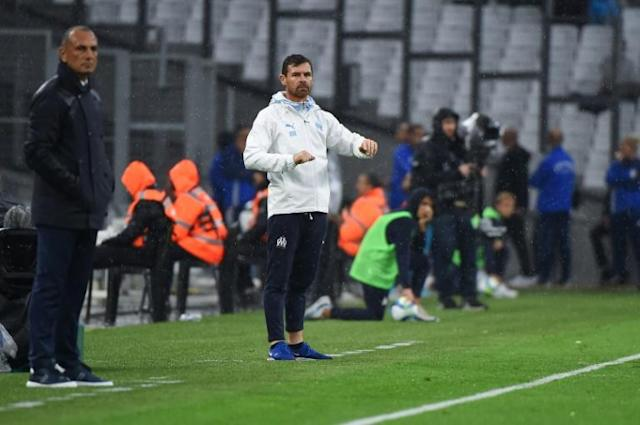 Andre Villas-Boas' Marseille failed to move above Paris Saint-Germain after being held by Montpellier (AFP Photo/SYLVAIN THOMAS)