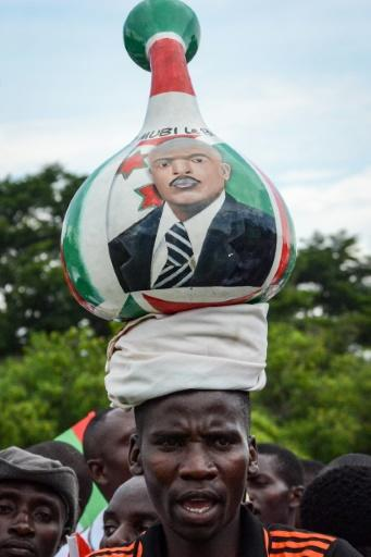 Supporters of Burundi?s ruling party have used colourful ways to promote President Pierre Nkurunziza
