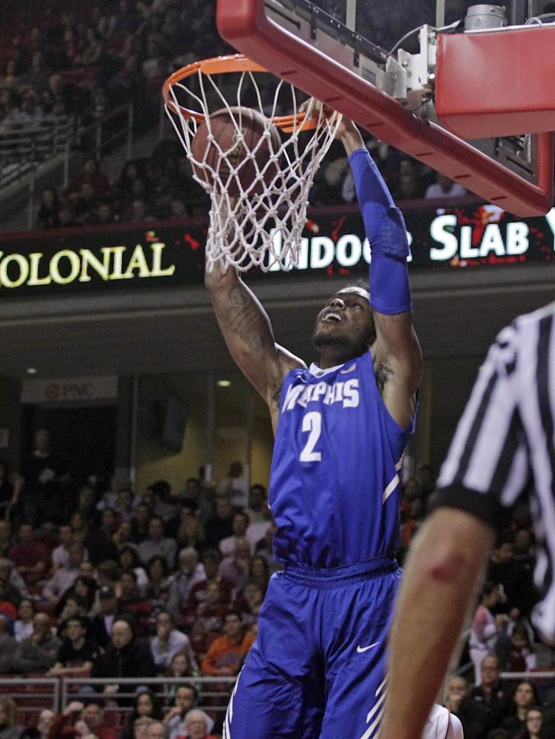 Goodwin leads No. 24 Memphis over Temple