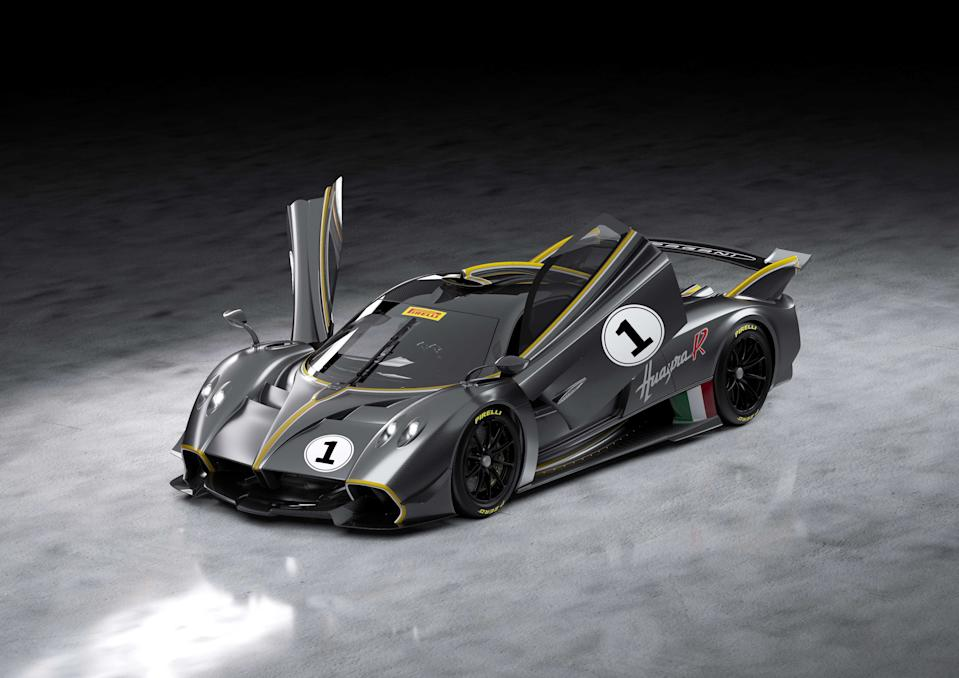 The most extreme Pagani Hypercar made exclusively for use on the trac