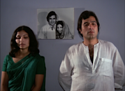 "While they have always played the ""madly in love"" couple, Avishkaar saw them being at the two ends of a marriage falling apart. Basudev Bhattacharya fantastically captures the complicacies in the intimacy shared by two in a marital discord. Sharmila skips on the high bun and extra-elongated winged eye-liner that had become synonymous to her in the 60s and assumes a more regular look. Hence, Mansi, once in love, now indifferent to a husband attracted toward women outside the periphery of their household, spoke to numerous women stuck in a similar fix in urban India."