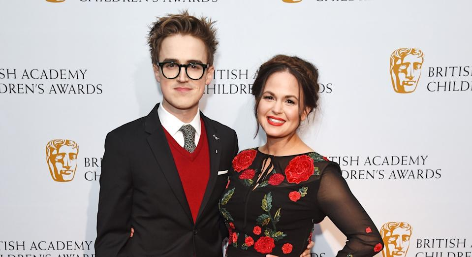 Tom and Giovanna Fletcher (pictured in 2016) have been together for more than 17 years. (Getty Images)
