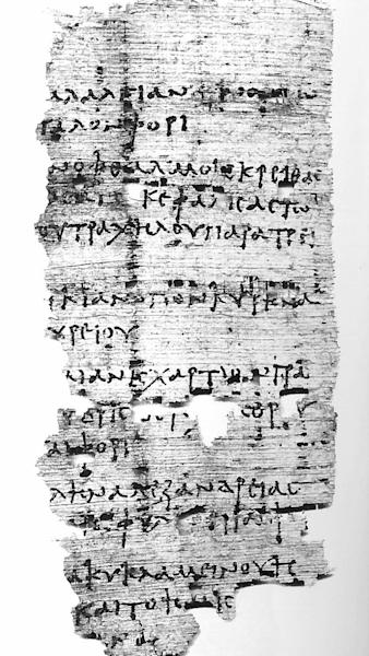 "This recently translated papyrus, dating back to the second century, contains a recipe for several ailments, including a ""drunken headache."