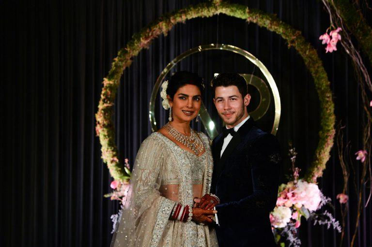 Priyanka Chopra And Nick Jonas Host An Indian Wedding Reception