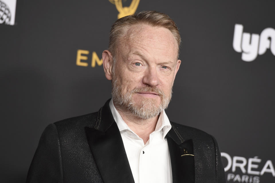 Jared Harris arrives at the 2019 Performers Nominee Reception presented by the Television Academy at the Wallis Annenberg Center for the Performing Arts on Friday Sept. 20, 2019, in Beverly Hills, Calif. (Photo by Jordan Strauss/Invision for the Television Academy/AP Images)