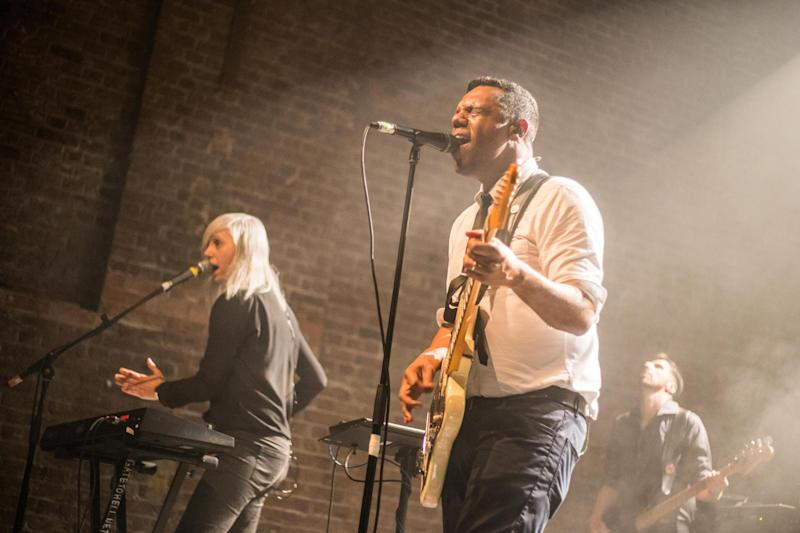 The Dears perform at Village Underground: Dannee Peppi