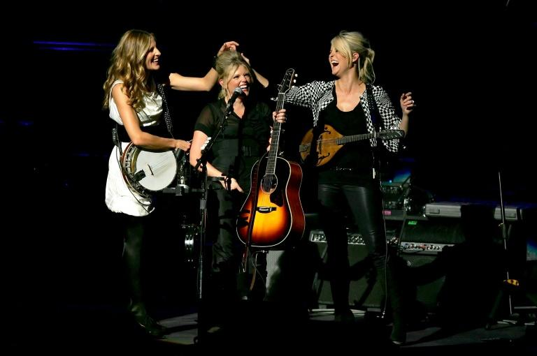 (L-R) Emily Strayer, Natalie Maines and Martie Maguire of The Chicks, shown here in 2007, have returned after a long hiatus with their first new album in 14 years