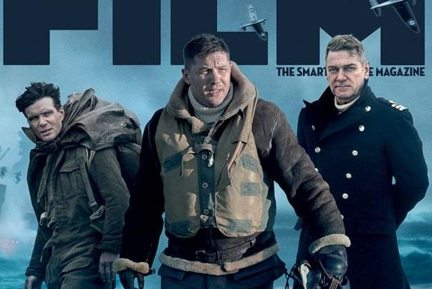 The stars of 'Dunkirk' on the cover of the latest Total Film (credit: Future PLC/Warner Bros)