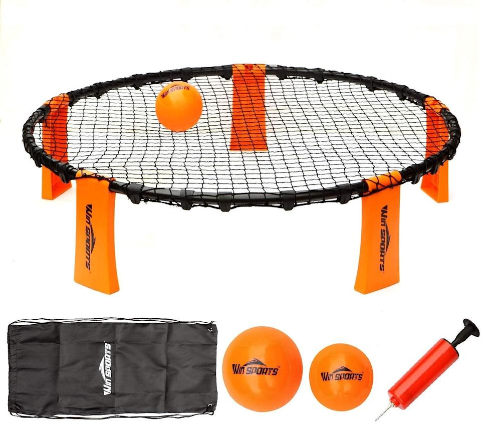 <p>This <span>Volleyball Spike Game Set</span> ($28) will get the whole family excited about playing outside.</p>