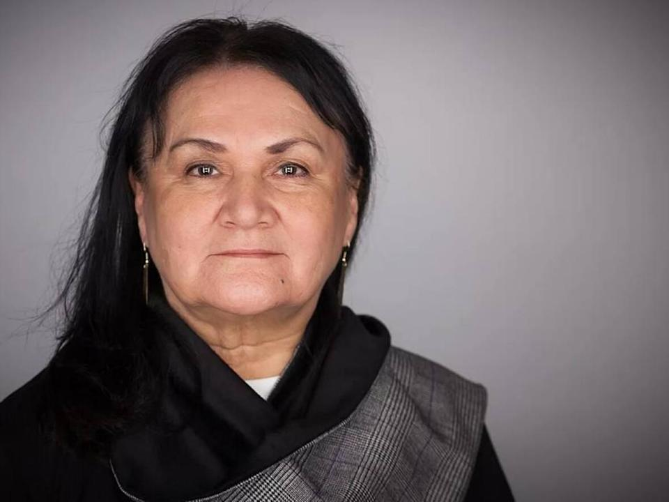 Dr. Shirley Cheechoo will receive the 2021 August Schellenberg Award of Excellence.  (ImagineNative Film and Media Arts Festival - image credit)