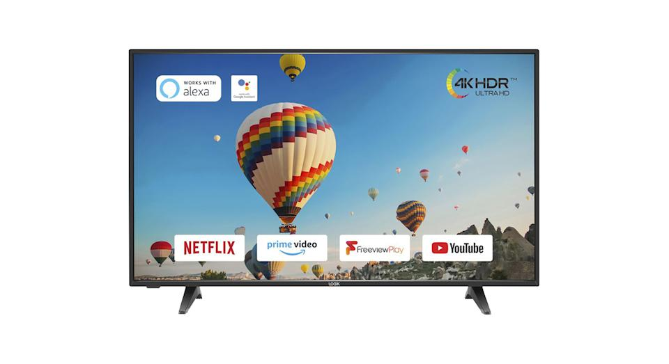 "LOGIK L65UE20 65"" Smart 4K Ultra HD HDR LED TV"